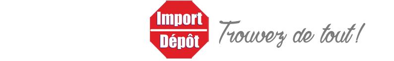 Import Dépôt