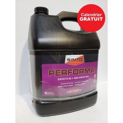 L'huile synthétique PERFORMA (+ cadeau)