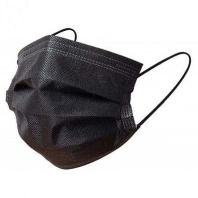 boite de 50 Masque de protection noirs