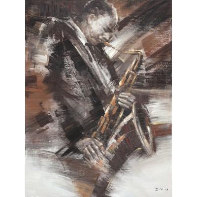 Cadre saxophone