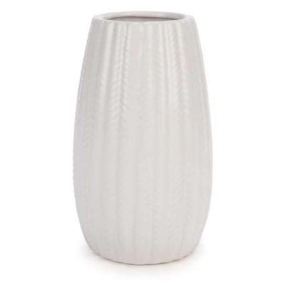 """Vase blanc 8"""""""