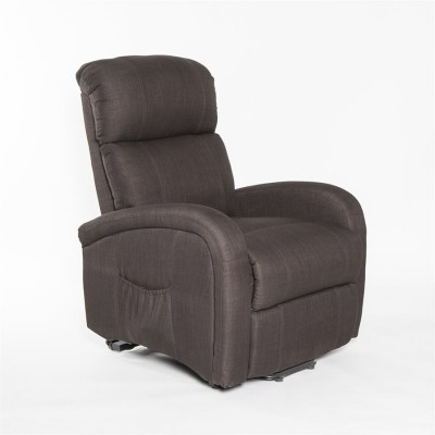 Fauteuil auto-souleveur inclinable (chocolat)