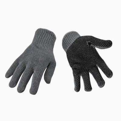(12) Gants de travail en tricot