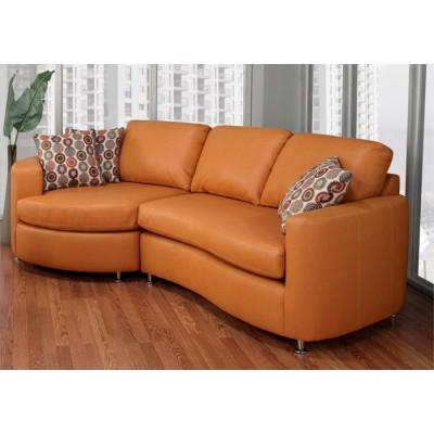 Sofa lounge orange
