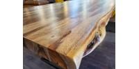 "Table en bois de sheesham 72"""