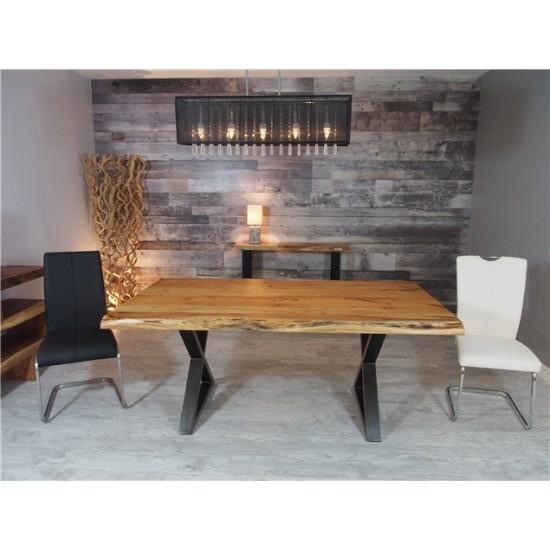 """Table en acacia 72"""" X 40"""""""