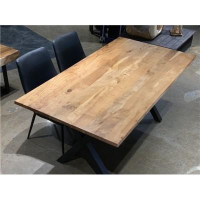 Table en bois d'acacia