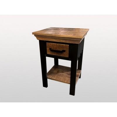 table d'appoint en bois de manguier